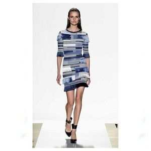 NWT Herve Leger Fringe Bandage Karoline Dress